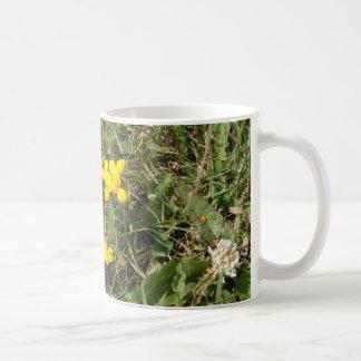 Yellow Wild Flower Coffee Mug