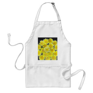 Yellow Wild Flowers Aprons