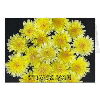 Yellow Wild Flowers Card