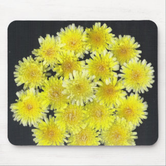 Yellow Wild Flowers Mouse Pads