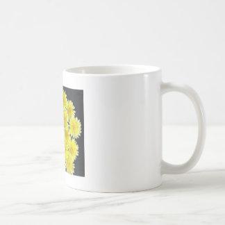 Yellow Wild Flowers Mugs