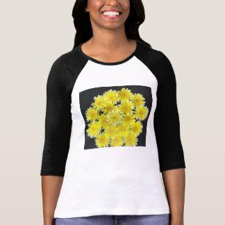 Yellow Wild Flowers Tee Shirt