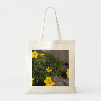 Yellow Wildflower Bag