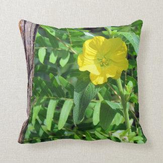 Yellow WIldflower Pillow
