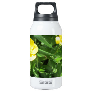 Yellow Wildflower SIGG Thermo 0.3L Insulated Bottle