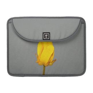 Yellow Wildflower Sleeves For MacBooks