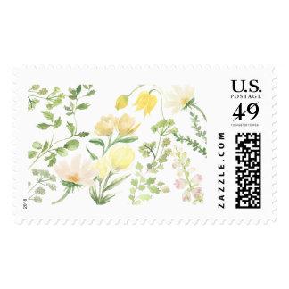 Yellow Wildflower Stamp