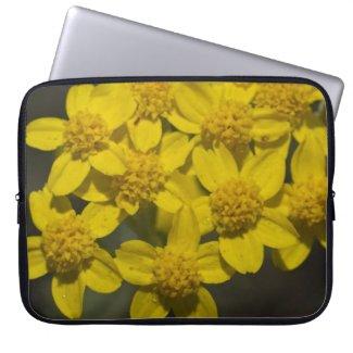 Yellow Wildflowers Computer Sleeve