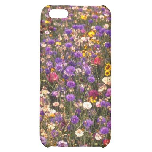 Yellow Wildflowers flowers iPhone 5C Covers