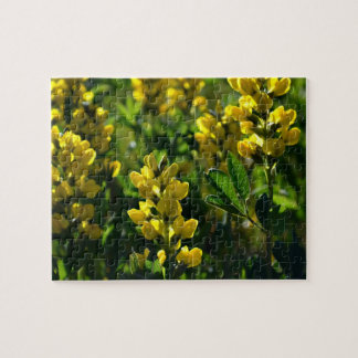 Yellow Wildflowers in the Mountains Puzzles