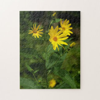 Yellow Wildflowers Photo Puzzle