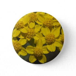 Yellow Wildflowers Pin