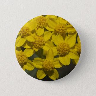 Yellow Wildflowers Pinback Button