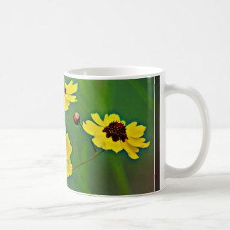 Yellow Wildflowers - Plains Coreopsis Coffee Mug