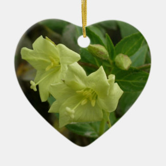 Yellow Willowherb, Epilobium luteum Ceramic Ornament