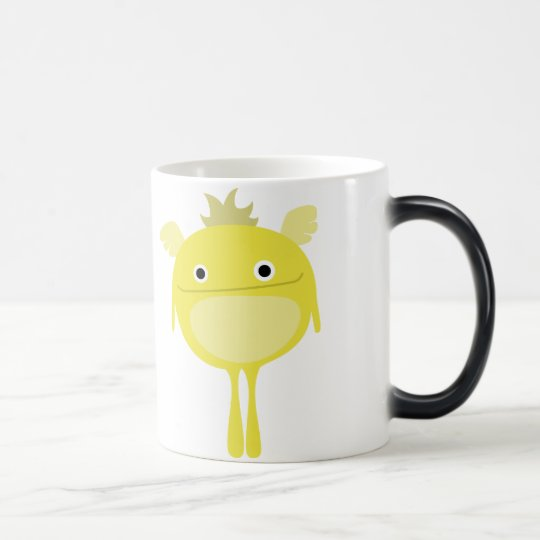 Yellow Winged Monster Mug