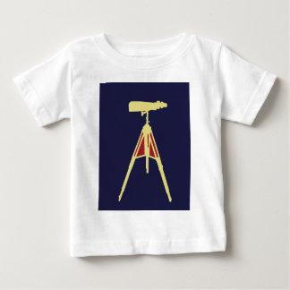 Yellow with Red Binoculars Baby T-Shirt