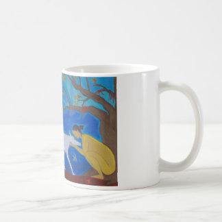 Yellow Woman Coffee Mug