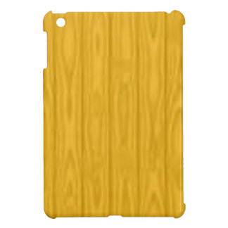 Yellow Wood Blurred iPad Mini Case