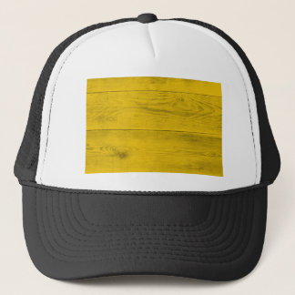 Yellow wood structure as a background texture trucker hat
