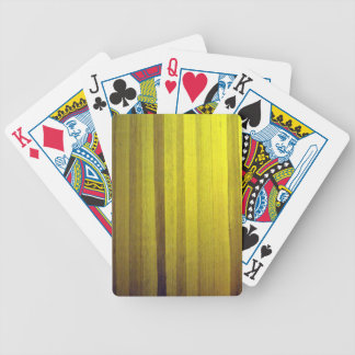 Yellow wooden interior design texture card decks