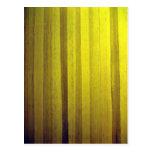 Yellow wooden interior design texture postcard