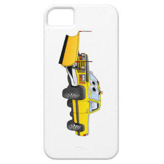 Yellow Y Pick Up Snow Plow Cartoon iPhone SE/5/5s Case