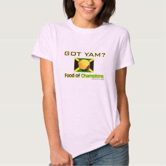Yellow Yam Food of World's Fastest People T-shirt