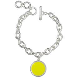 Yellow Yayness Charm Bracelet