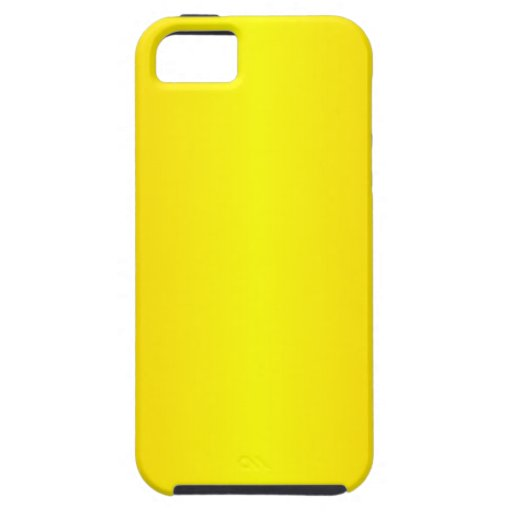 Yellow - Yellow and Chrome Yellow iPhone 5 Covers