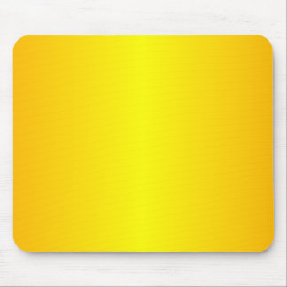 Yellow - Yellow and Chrome Yellow Mouse Pad