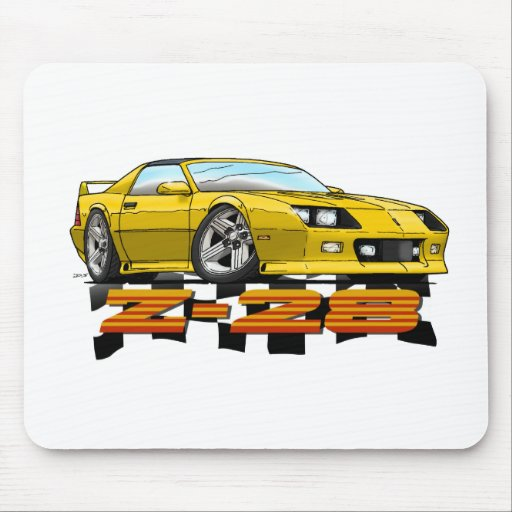 Yellow_Z28_3G Mouse Pads