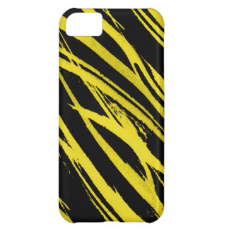 yellow zebra cover for iPhone 5C