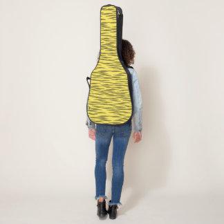 Yellow  Zebra guitar case