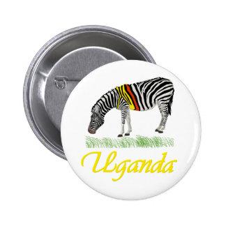 Yellow Zebra Series Button