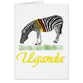 Yellow Zebra Series Card