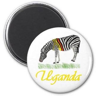 Yellow Zebra Series Magnet