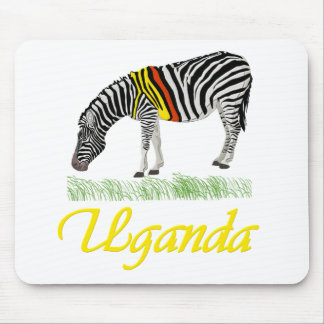 Yellow Zebra Series Mouse Pads