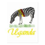Yellow Zebra Series Post Card