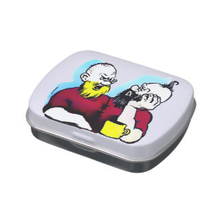 Yellowbeard & Curly-Top Jelly Belly™ Candy Tin