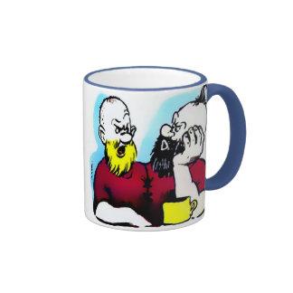 Yellowbeard & Curly-Top Two-tone Mug (in 7 styles)