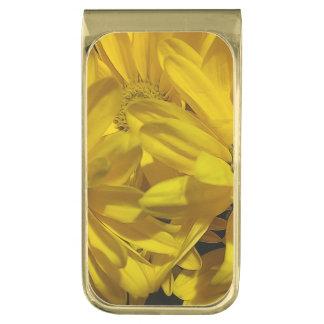 yellowdaisies gold finish money clip