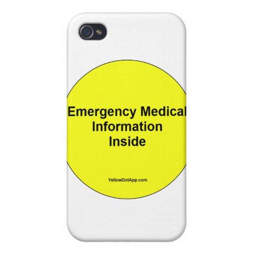 YellowDotNotice iPhone 4 Coberturas
