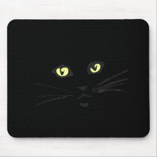 Yellowed eyed cat mousepad