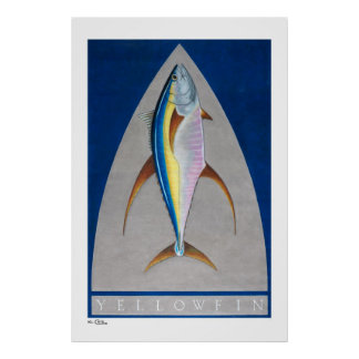 Yellowfin Posters, Prints and Frames