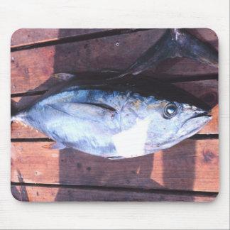 Yellowfin Tuna caught Mouse Pad