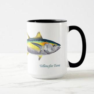Yellowfin tuna fish mug