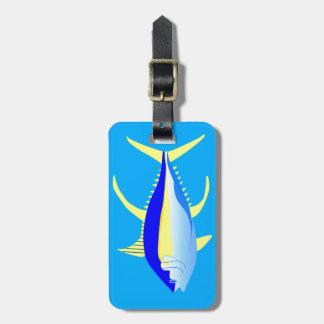 Yellowfin Tuna Luggage Tag