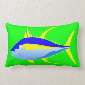 Yellowfin Tuna Lumbar Pillow