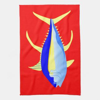 Yellowfin Tuna Towels